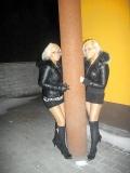Deus blondes jumelles de russie