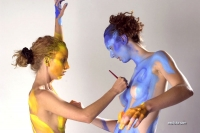 Bodypaint entre copines