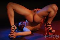 Position sexuelle extrême