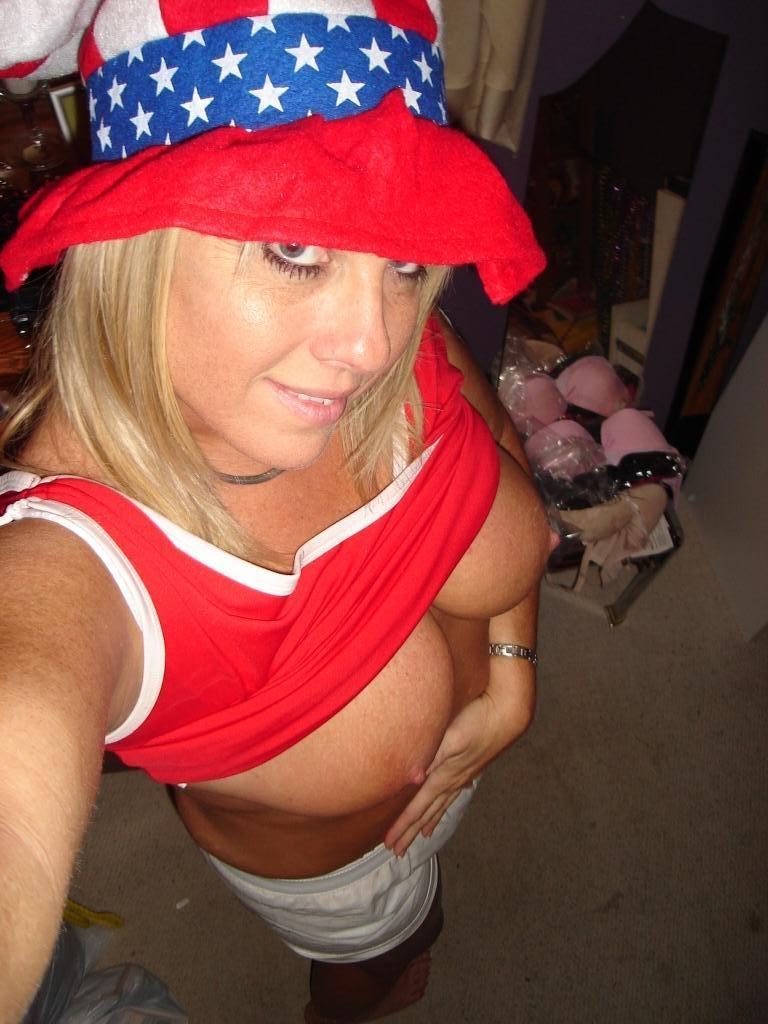 Miss america dans la réserve