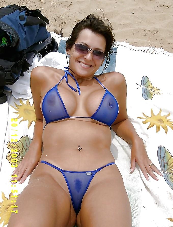 Mon ex femme en vacance sur la cote
