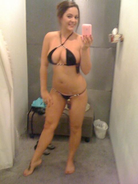 Essayage de maillots de bain