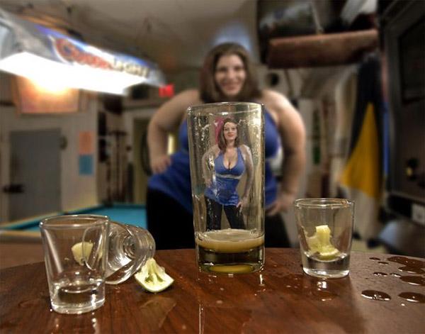 Alcool et fille attention danger
