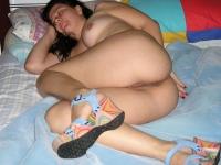 Ma copine dort nue