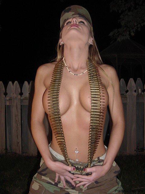 Army girl super sexy