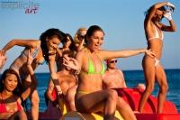 Jeunes étudainte en vacances